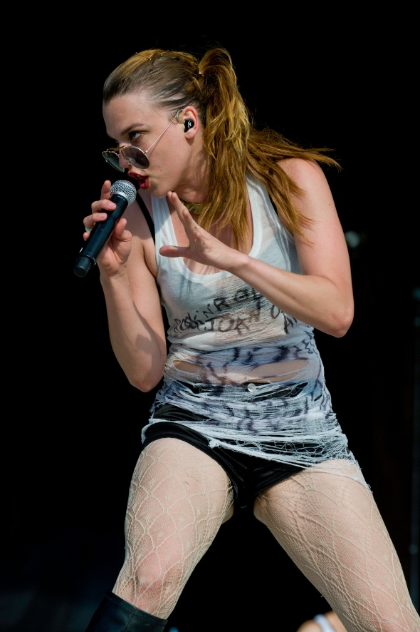 Lizzy Hale-Halestorm-Chippewa Valley Rock Festival-Cadot, WI