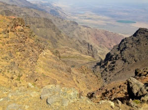 East Rim Overlook overlooking Alvord Desert