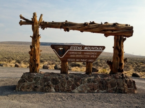 Official Steens Mountain Cooperative management Area- public and private cooperation for mutual benefit