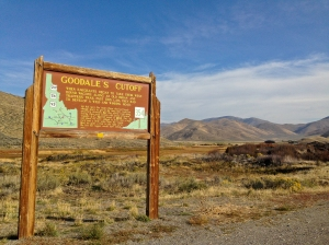Goodale's Cutoff, an emigrants bypass of the extensive lava fields in idaho