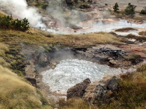 Artists' Paintbox in Yellowstone