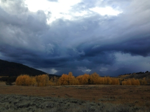 More drama in the Tetons