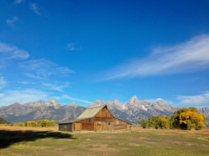 Moulton Barn on Mormon Row in the Tetons