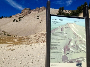 Lassen Peak in Lassen Volcanic National Park