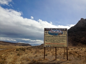 Welcome to the Pyramid Lake Paiute Reservation
